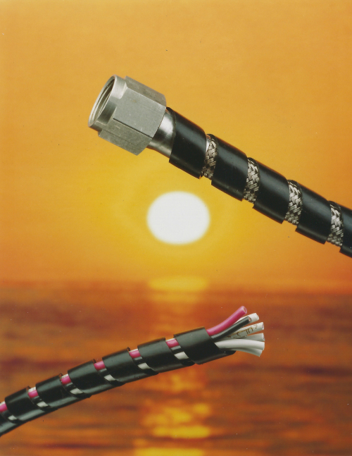 UV-Resistant Cable Wrap Withstands Sunlight & Salt Spray
