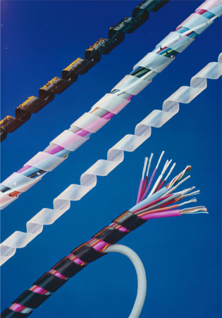 Heli-Tube Spiral Cable Wrap